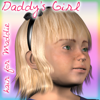 Daddy's Girl-hair for Maddie  DigitalDreamsDS