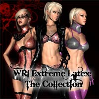 Extreme Latex: The Collection 2D 3D Figure Essentials WhiteRavenImages