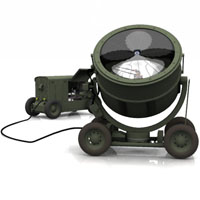 WWII Sperry Searchlight | Vue  Touchwood