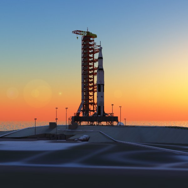 Apollo Launch Complex 39 (for Poser)