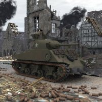 M4A3 Sherman (for Vue) Themed Transportation ranman38
