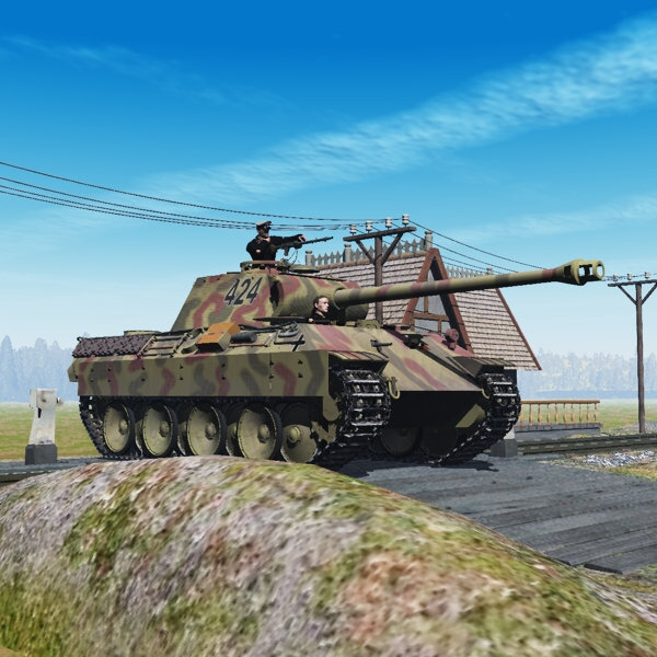 PzVa Panther (for Poser)