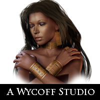 AW Lattice Jewelry for V4 3D Models awycoff