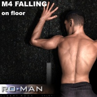 M4 Falling II 3D Figure Essentials RO_MAN