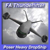 FA Thunderlifter Heavy DropShip Transportation Themed fireangel