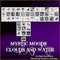doarte's MYSTIC MOODS - CLOUDS & WATER BRUSHES 2D Graphics doarte