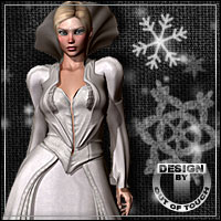 SNOWPHISTICATED for Wonderland Queen of Hearts V4 3D Models 3D Figure Assets outoftouch