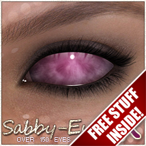 Sabby-EyesFX_V4 3D Models 2D 3D Figure Essentials Sabby
