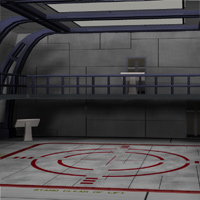 Shuttle Bay (for Poser) 3D Models VanishingPoint