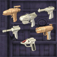 Classic Rayguns for Poser Themed Props/Scenes/Architecture Richabri