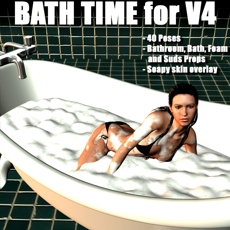 Bath Time for V4 by adamthwaites