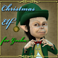 Christmas Elf for Gosha 3D Figure Assets 3D Models smay