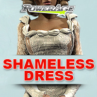 Shameless Dress for V4 3D Figure Assets powerage
