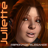 Juliette Espionage Elegance 3D Figure Essentials 3D Models arcas