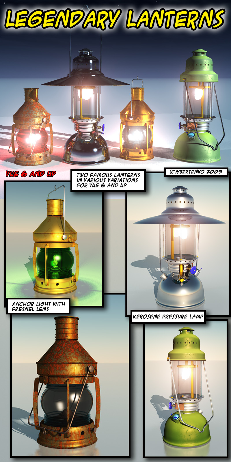 Legendary Lanterns