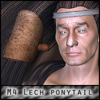 M4 Lecherous Ponytail 3D Figure Essentials ForbiddenWhispers