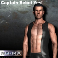 Captain Rebel Yes! 3D Figure Essentials RO_MAN