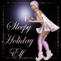 Sleepy Holiday Elf 3D Figure Essentials SWAM