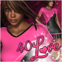 40 Love 3D Figure Essentials Propschick