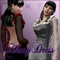 HussyDress 3D Figure Essentials Nathalie_