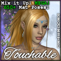 Touchable Deja Vu Hair -Wolfie-