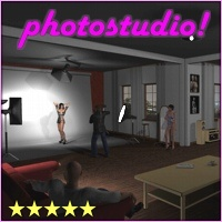 Photostudio by 3-D-C Props/Scenes/Architecture Poses/Expressions 3-d-c