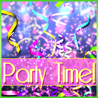 Party Time! 2D Graphics Sveva