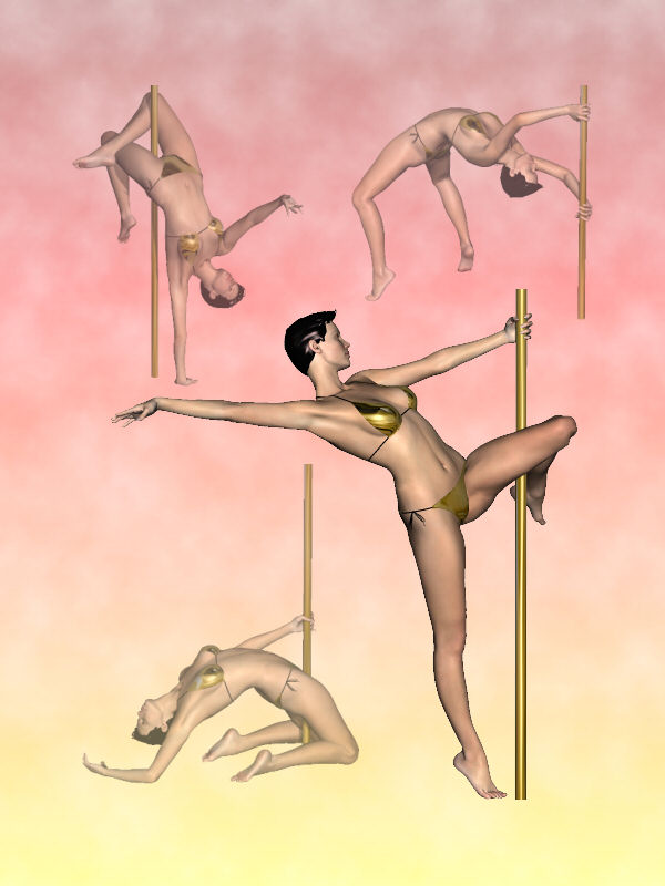 Victoria 3 Pole Dancer