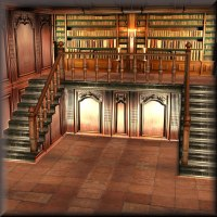 The Library 3D Models kawecki