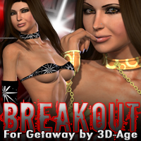 Breakout for Getaway by 3D-Age 3D Figure Assets fratast