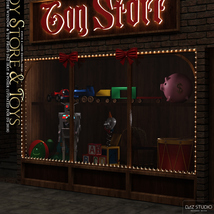 Toy Store Window and Toys for DS and Poser image 2
