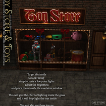 Toy Store Window and Toys for DS and Poser image 3