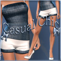Casual Chic for V4 3D Figure Essentials nikisatez