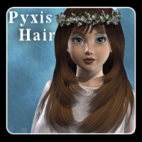 Pyxis Hair V4/A4/G4 3D Figure Essentials Propschick