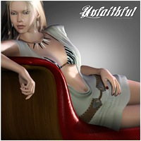 Unfaithful for V4/A4/G4/PBIV 3D Models 3D Figure Assets mytilus