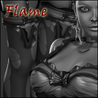 Flame Dressing V4.2 Elite-Aiko4-GND4 by jasmina