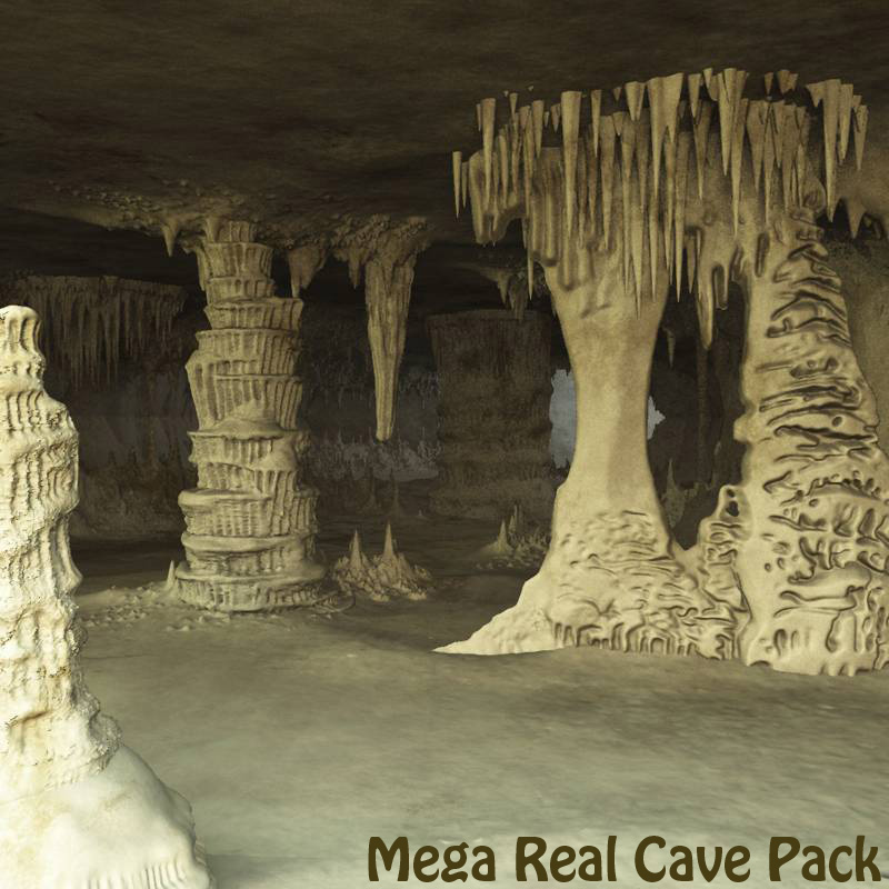 Mega Real Cave Pack