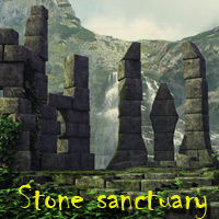 Stone sanctuary 3D Models 3D Figure Essentials deadhead