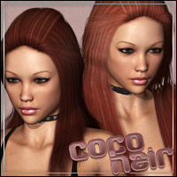 Coco Hair 3D Figure Essentials outoftouch