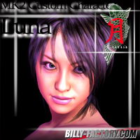 MK2 Custom Charater Luna 3D Figure Essentials billy-t