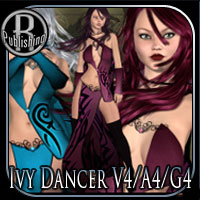 Ivy Dancer V4/A4/G4 3D Models 3D Figure Essentials RPublishing
