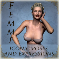 Femme: Iconic Poses and Expressions Poses/Expressions Themed ironman13
