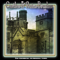 Castles And Ruins Brushes 2D Graphics EmmaAndJordi