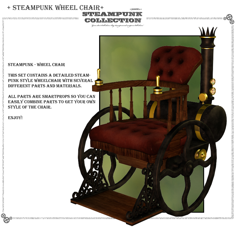 SteamPunk - WheelChair