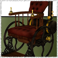 SteamPunk - WheelChair 3D Models jonnte