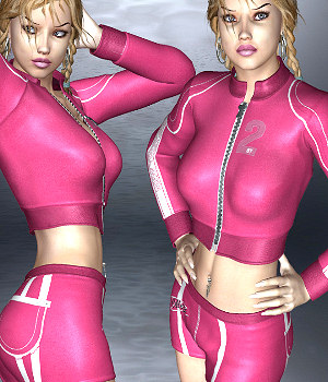 PrettyCollege for V4, Girl 4, Aiko 4, PrettyBaseIV and GND4 3D Figure Assets WhopperNnoonWalker-