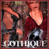 LaLiberte GOTHIQUE Themed Clothing renapd