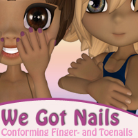 We Got Nails! Accessories Materials/Shaders Themed EyesblueDesign
