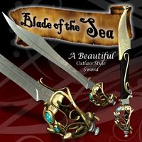 Blade Of The Sea 3D Models blbarrett
