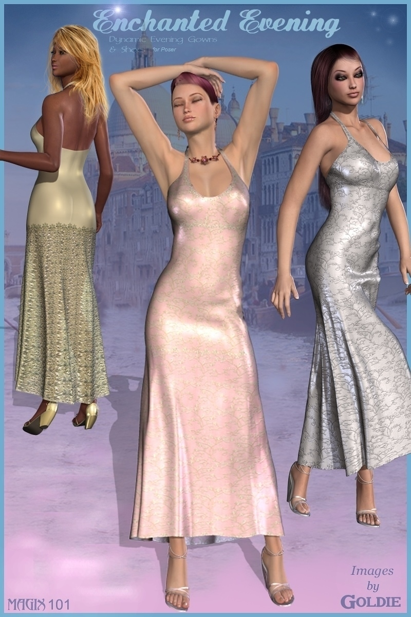 ENCHANTED EVENING DYNAMIC CLOTHES